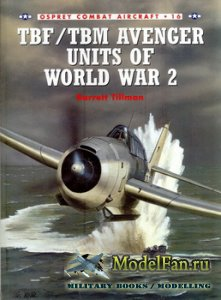 Osprey - Combat Aircraft 16 - TBF/TBM Avenger Units of World War 2