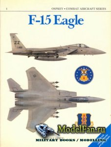 Osprey - Combat Aircraft 1 (Old Series) - F-15 Eagle