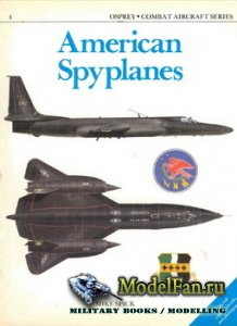 Osprey - Combat Aircraft 4 (Old Series) - American Spyplanes