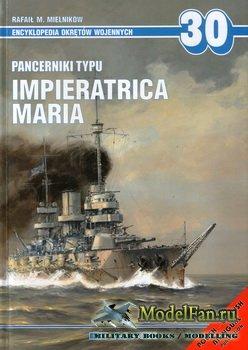 AJ-Press. Encyklopedia Okretow Wojennych 30 - Pancerniki typu Impieratrica  ...