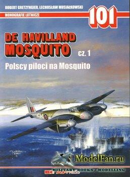 AJ-Press. Monografie Lotnicze 101 - De Havilland Mosquito (cz.1). Polscy Pi ...