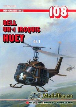AJ-Press. Monografie Lotnicze 108 - Bell UH-1 Iroquis Huey (cz.1)