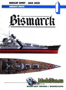 AJ-Press. Monografie Morskie 1 - Bismarck