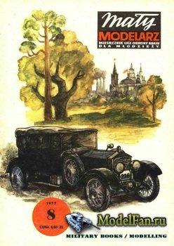 Maly Modelarz №8 (1977) - Samochod ktorym jezdzil W.I.Lenin