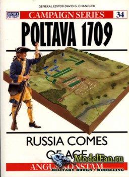 Osprey - Campaign 34 - Poltava 1709. Russia Comes of Age