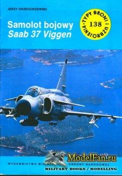 Typy Broni i Uzbrojenia (TBIU) 138 - Samolot bojowy Saab 37 Viggen