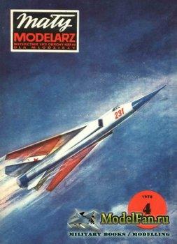 Maly Modelarz №4 (1978) - Samolot mysliwski MiG i samolot sportowy AIR-1