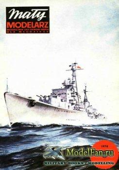 Maly Modelarz №6 (1978) - Niszczyciel