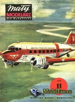 Maly Modelarz №11 (1978) - Samolot transportowy Li-2