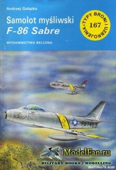 Typy Broni i Uzbrojenia (TBIU) 167 - Samolot mysliwski F-86 Sabre