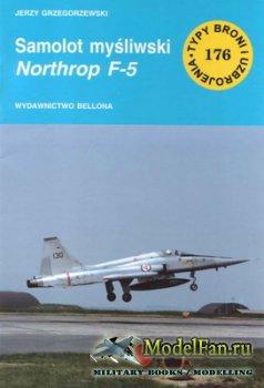 Typy Broni i Uzbrojenia (TBIU) 176 - Samolot Mysliwski Northrop F-5