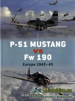 Osprey - Duel 1 - P-51 Mustang vs Fw 190. Europe 1943-45