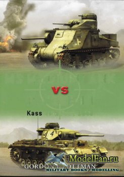 Osprey - Duel 10 - M3 Medium Tank vs Panzer III. Kasserine Pass 1943