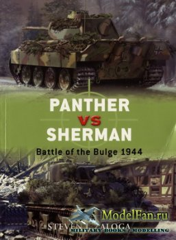 Osprey - Duel 13 - Panther vs Sherman. Battle of the Bulge 1944