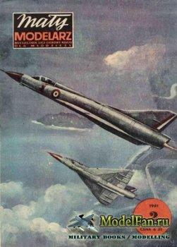 Maly Modelarz №2 (1981) - Samolot mysliwski MP 550