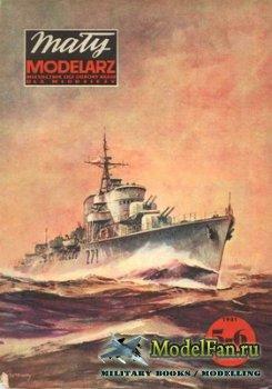 Maly Modelarz №5-6 (1981) - Niszczyciel ORP