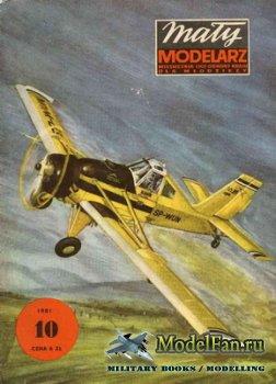 Maly Modelarz №10 (1981) - Samolot rolniczy PZL 106-A