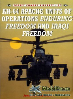Osprey - Combat Aircraft 57 - AH-64 Apache Units of Operation Enduring Free ...