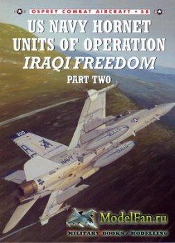 Osprey - Combat Aircraft 58 - US Navy Hornet Units of Operation Iraqi Freed ...