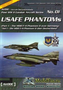 AirDOC №01 - USAFE Phantoms (Part 1) - The MDD F-4 Phantom II over Germany