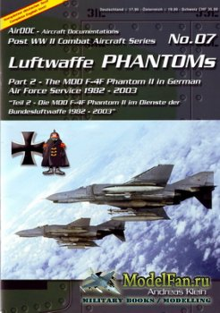 AirDOC №07 - Luftwaffe Phantoms (Part 2) - The MDD F-4F Phantom II in Germa ...