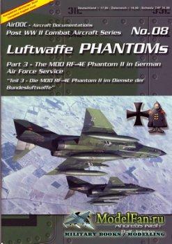 AirDOC №08 - Luftwaffe Phantoms (Part 3) - The MDD RF-4E Phantom II in Germ ...