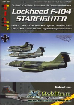 AirDOC (ADJP 01) - Lockheed F-104 Starfighter (Part 1). The F-104G with the ...