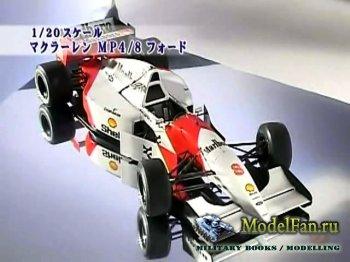 FujiTV show Plamo Tsukurou (Сезон 1, Выпуск 11) - Tamiya Ferrari F2001 (1/2 ...