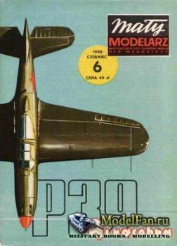Maly Modelarz №6 (1985) - Samolot Bell P-39