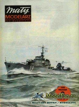 Maly Modelarz №9 (1985) - Niszczyciel