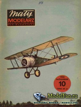 Maly Modelarz №10 (1985) - Samoloty Sopwith