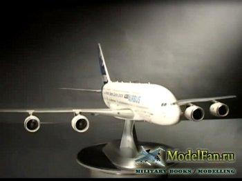 FujiTV show Plamo Tsukurou (Сезон 3, Выпуск 9) - Revell Airbus A380 + Inter ...