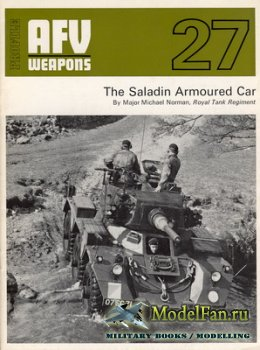 AFV (Armoured Fighting Vehicle) 27 - The Saladin Armoured Car