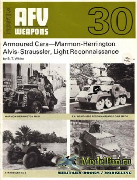 AFV (Armoured Fighting Vehicle) 30 - Armoured Cars - Marmon-Herrington Alvi ...