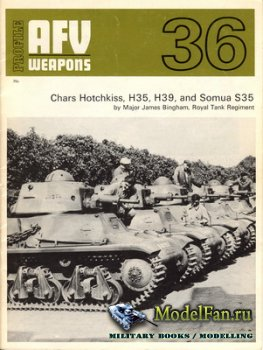 AFV (Armoured Fighting Vehicle) 36 - Chars Hotchkiss, H35, H39, and Somua S ...