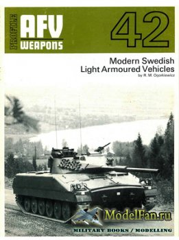 AFV (Armoured Fighting Vehicle) 42 - Modern Swedish Light Armoured Vehicles