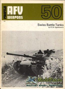 AFV (Armoured Fighting Vehicle) 50 - Swiss Battle Tanks