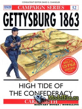 Osprey - Campaign 52 - Gettysburg 1863. High Tide of the Confederacy