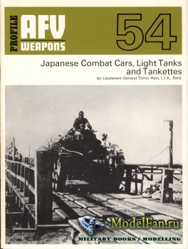 AFV (Armoured Fighting Vehicle) 54 - Japanese Combat Cars, Light Tanks and  ...