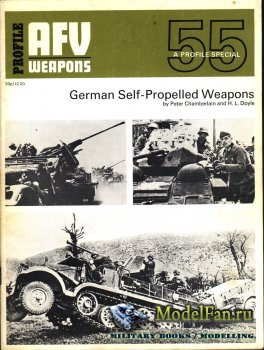 AFV (Armoured Fighting Vehicle) 55 - German Self-Propelled Weapons