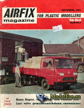 Airfix Magazine (September, 1966)