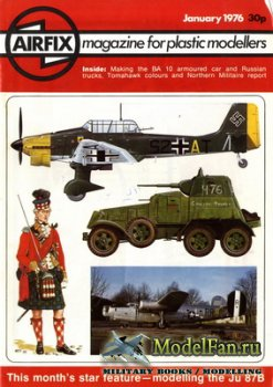 Airfix Magazine (January, 1976)