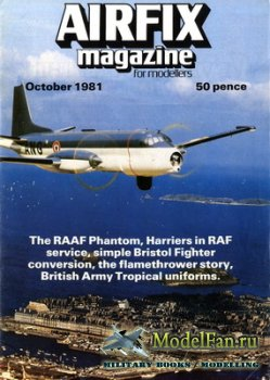 Airfix Magazine (October, 1981)
