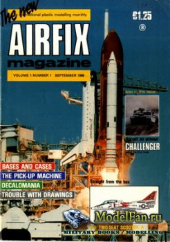 Airfix Magazine (September, 1988)