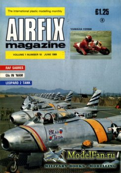 Airfix Magazine (June, 1989)