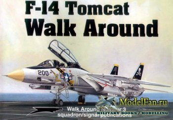 Squadron Signal (Walk Around) 5503 - F-14 Tomcat