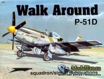 Squadron Signal (Walk Around) 5507 - P-51D