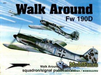 Squadron Signal (Walk Around) 5510 - Fw 190D