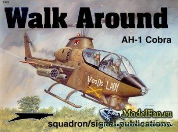 Squadron Signal (Walk Around) 5529 - AH-1 Cobra