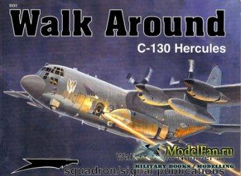 Squadron Signal (Walk Around) 5531 - C-130 Hercules